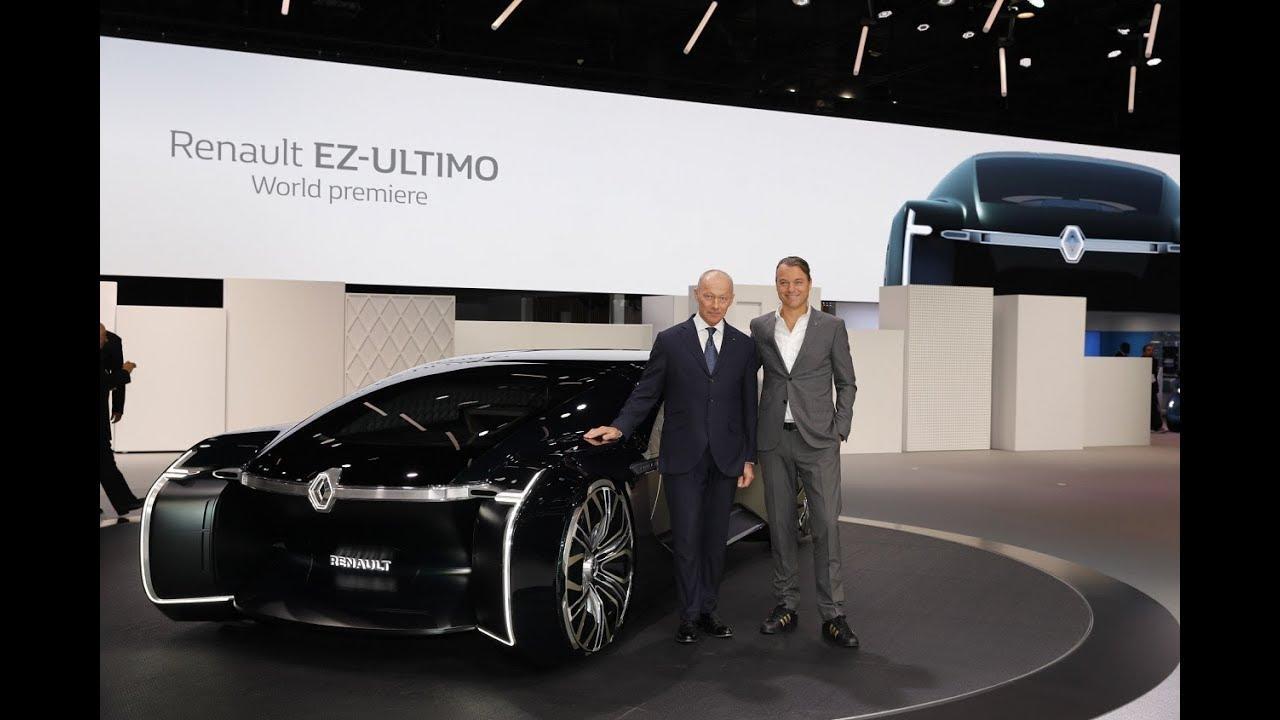 Conference De Presse Renault Mondial De L Automobile De Paris 2018