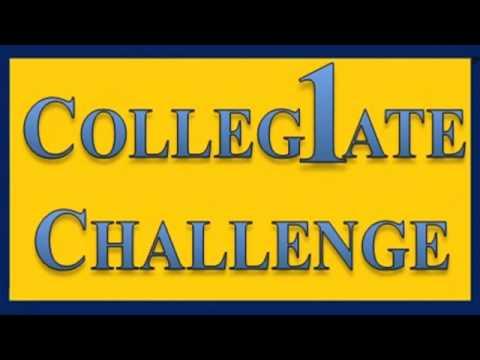 Collegiate Challenge - My 2010 UM-Flint Radio Game Show Pilot