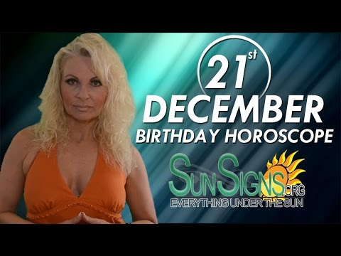 today 21 december horoscope birthday