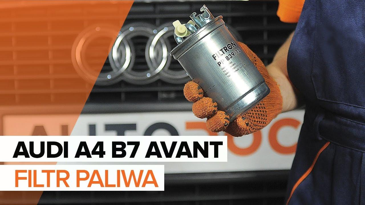 Jak Wymienić Filtr Paliwa W Audi A4 B7 Avant Tutorial Autodoc