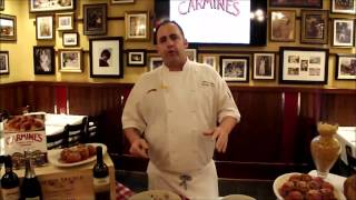 How To Make Carmine's New York's Famous Meatballs!