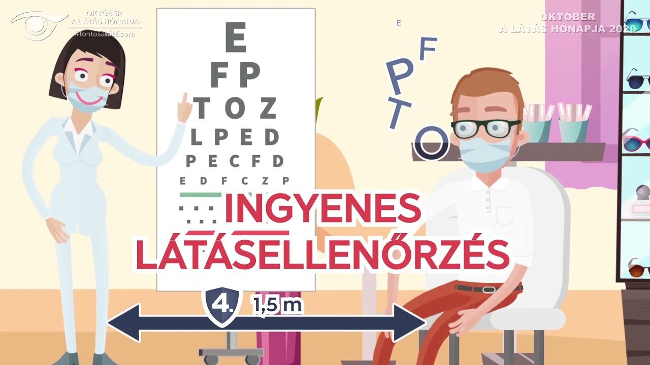 ingyenes látásellenőrzés)