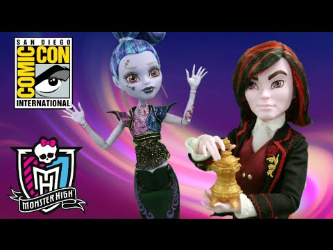 "Comic Con Exclusive: Monster High Kieran Valentine and Djinni ""Whisp"" Grant from Mattel"