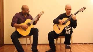 """""""Кубинский танец"""" - переложение для двух гитар"""