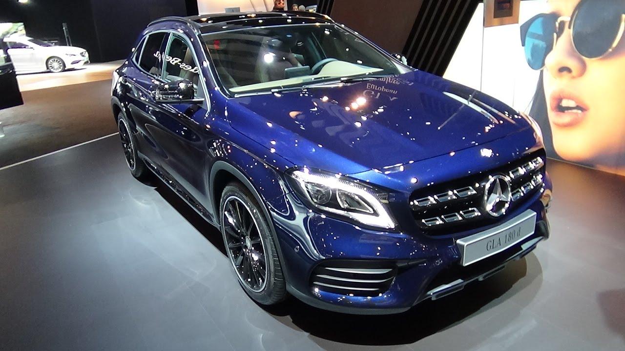 2017 Mercedes Benz Gla 180d Exterior And Interior Auto