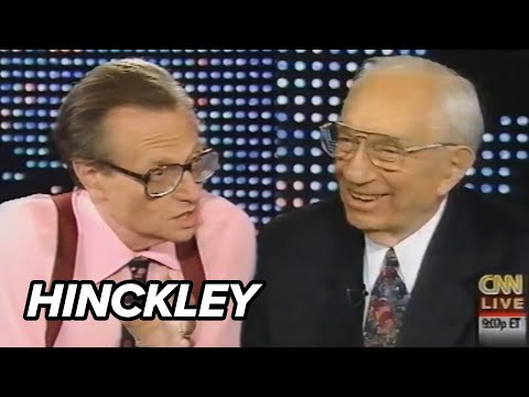 Pres. Gordon B. Hinckley on Larry King Live (Full Interview)