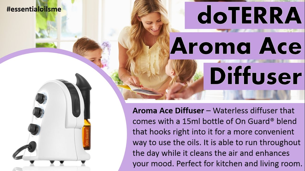 Doterra Aroma Ace Diffuser Various Owner Manual Guide