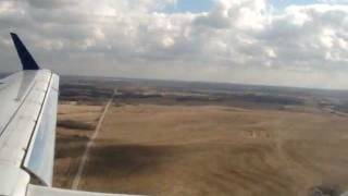 Landing at KCI Airport (MCI), 19 Nov 2011