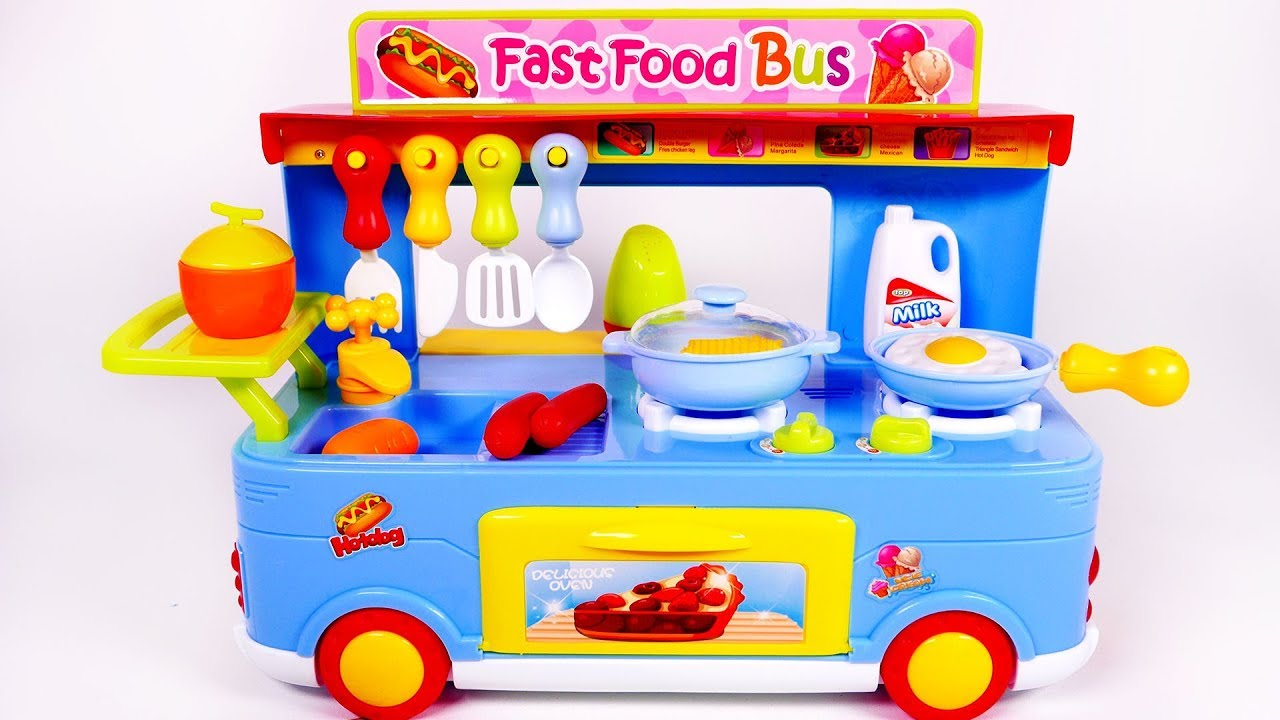 How To Make A Fast Food Van