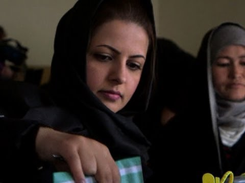 Election underway for new Afghan president