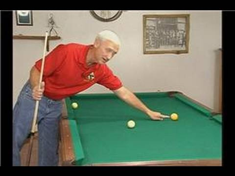 how to hold a pool stick video