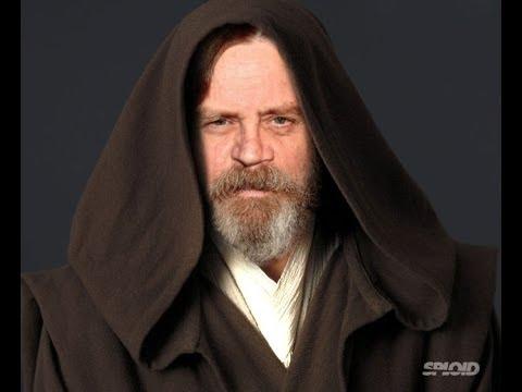 Lego Star Wars The Force Awakens Luke Skywalker Minifigure ...