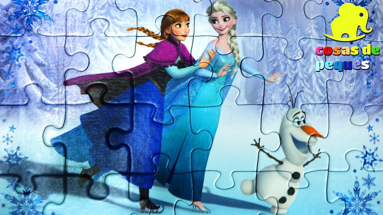 Puzzle de Frozen Puzzle Elsa Anna Frozen Puzzle