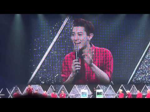 140413 EXO Canyeol sing Japanese song.