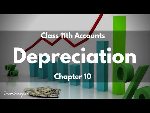 Depreciation : Class 11 XI | Accounts | Video Lecture