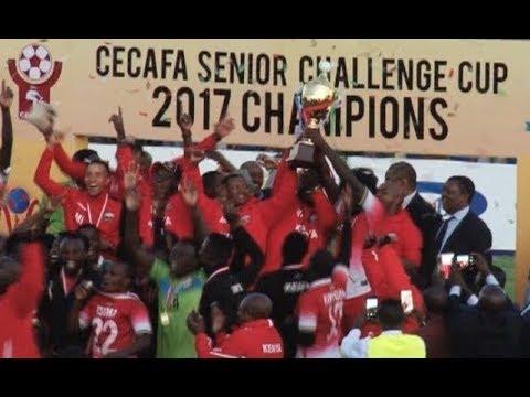Thousands of fans filled Machakos Stadium for CECAFA Cup final