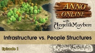 Anno Online - Infrastructure vs. People Structures