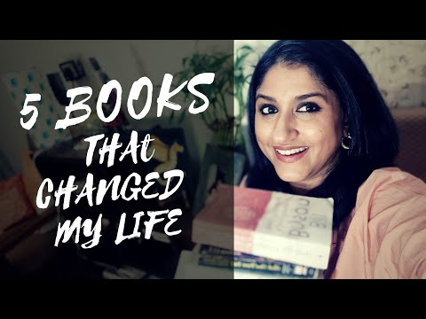 5 books that changed my life | book recommendations | dhanya varma