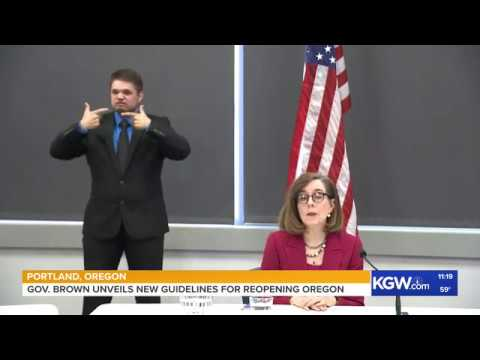 Gov. Kate Brown Unveils New Guidelines For Reopening Oregon
