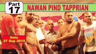 (17) Nawan PInd Tapprian (Nawanshahr) Kabaddi Touranament 27 Sep 2015