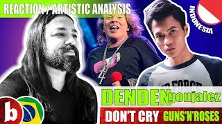 DENDEN GONJALEZ! Don't Cry (Guns'n'Roses cover) - Reaction (SUBS)