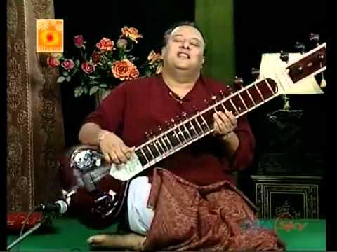 Ustad Shujaat Husain Khan playing Tu Jaha jaha chalega, mera saaya saath Hoga.