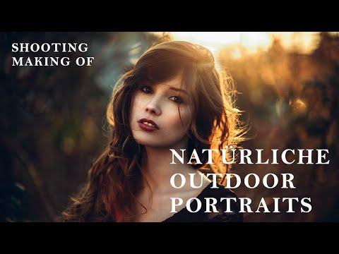 NATÜRLICHE OUTDOOR PORTRAITS // MAKING OF // TIPPS & TRICKS