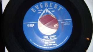 Lions - No One - Great Early 60's Uptempo Doo Wop