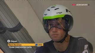 Велоспорт  Тур де Франс  1 й этап 1 часть