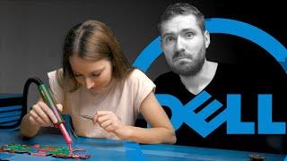 Nauczyłem Monikę naprawiać najczęstszą usterkę DELL'i - może otwierać serwis :-]