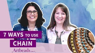 Artbeads Cafe - 7 Ways to Use Chain in Jewelry with Cynthia Kimura and Cheri Carlson