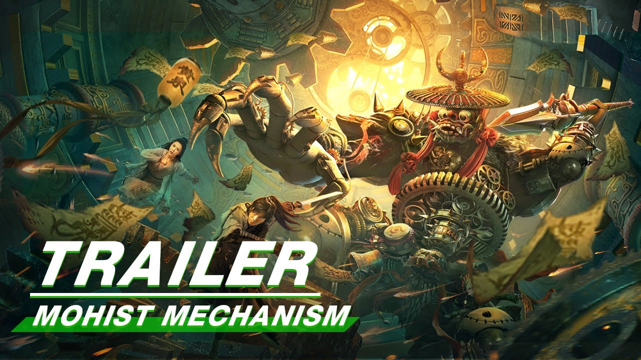Download Official Trailer: Mohist Mechanism   墨家机关术   iQiyi