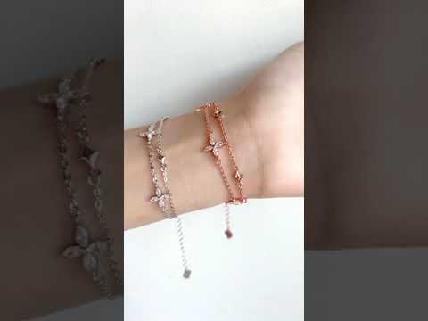 Lucia Double-Chained Bracelet video 1