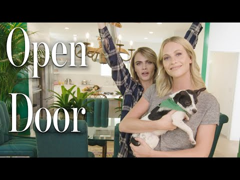 Inside Cara and Poppy Delevingne's Los Angeles Home: Party Bunkers, Playboy Pinball and So Much More