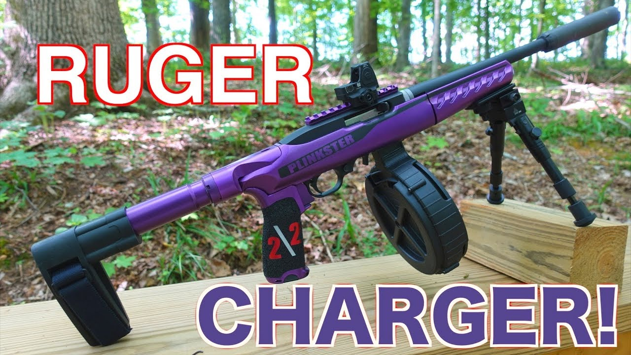 Copper Custom Ruger 22 Charger Ar