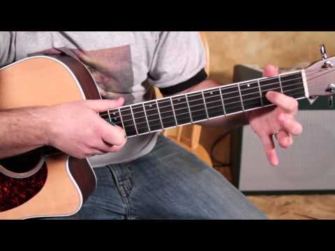 Easy Beginner Songs Guitar Lesson - How To Play -Gloria- By Them W Van Morrison