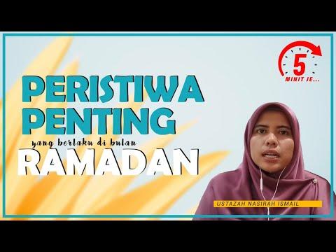 5 Minit Jer Ep 10: Peristiwa Penting yang berlaku pada bulan Ramadan