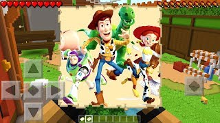I FOUND A TOY STORY MAP in Minecraft Pocket Edition!