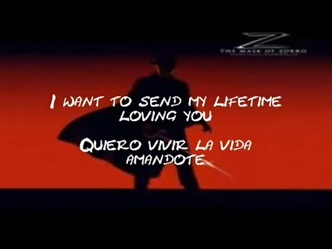 Quiero vivir la vida amandote ( La mascara del zorro )