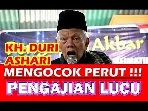 Ceramah KH Duri Ashari Pengajian Lucu Full HD