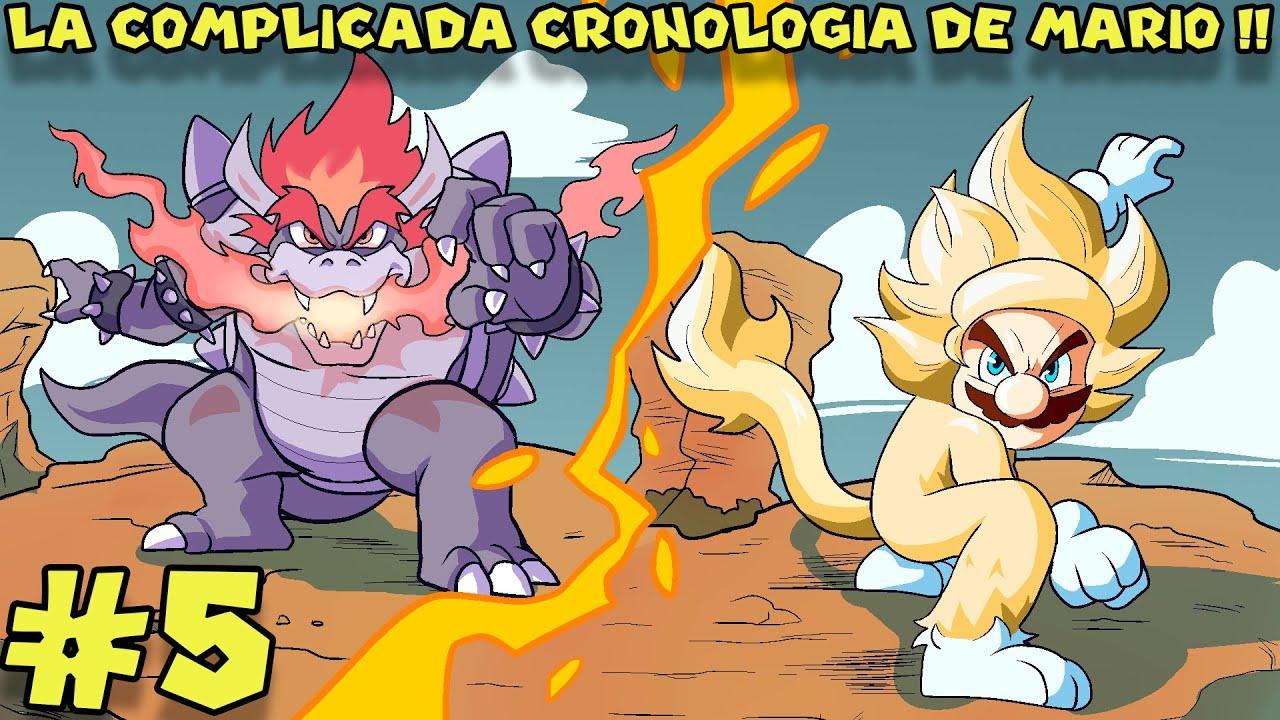La CONFUSA CRONOLOGÍA de SUPER MARIO BROS (PARTE 5) - Pepe el Mago