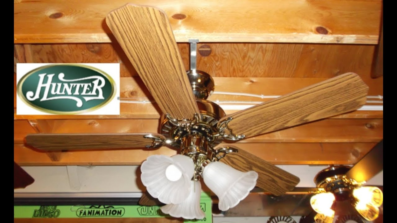 Hunter Kimbrough Summer Breeze Ceiling Fan Youtube