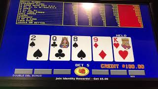 $2 VIDEO POKER  $500 JACKPOT LIVE WHILE IT HAPPENS