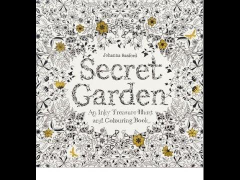 Secret Garden Johanna Basford Colouring