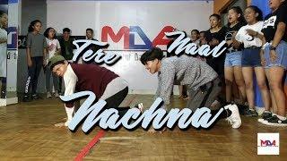 Nawabzaade: TERE NAAL NACHNA DANCE    Bidur Siwakoti Choreography    The Movement Dance Academy