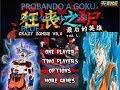 Crazy Zombie 9    Goku Ultra instinto y SSJ blue  fighting