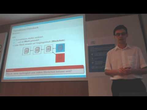 p2pLabs Lecture #1: Bitcoin & Blockchain-Technologie