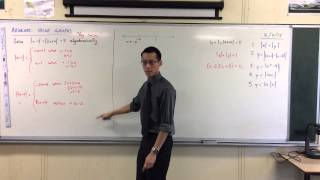 """Solving Equations w/ Absolute Values Algebraically (""""By Cases"""")"""