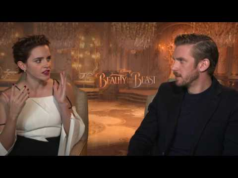 Dan Stevens, Emma Watson, and Bill Condon on How Long The Beast Has Been Cursed | Interview