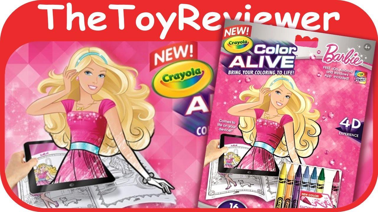Crayola Color Alive Barbie App | Todayss.org